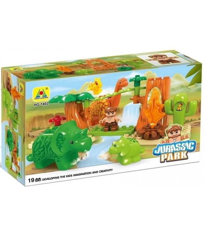 Конструктор Динозавры (19 деталей)