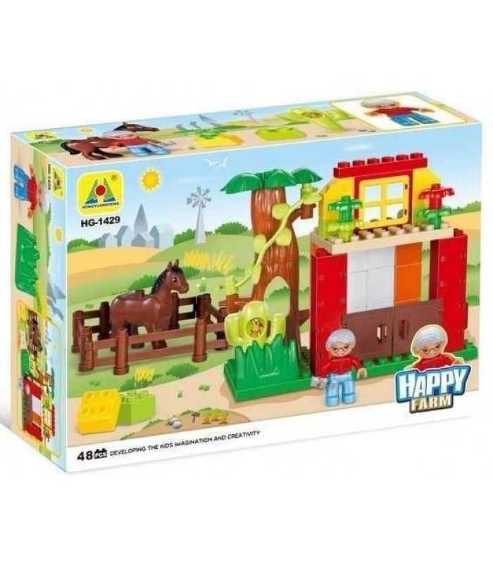 Конструктор Веселая ферма (48 деталей)