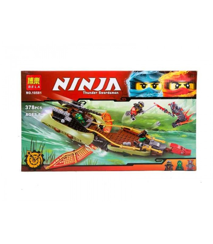 Конструктор Ninja 10581 (378 деталей)