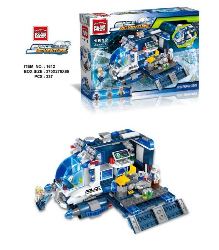 Конструктор Brick 1612 Космическое приключение (337 деталей)