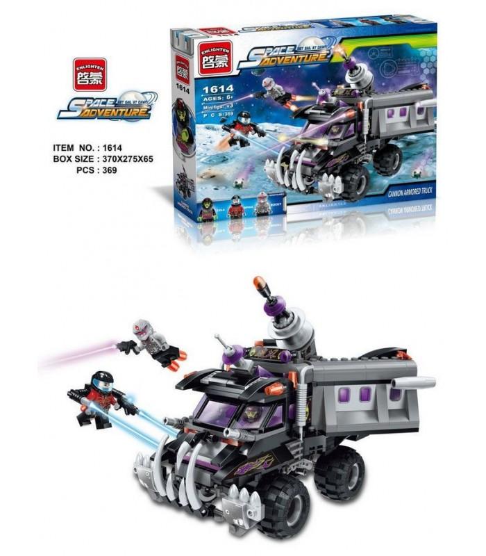 Конструктор Brick 1614 Космическое приключение (369 деталей)