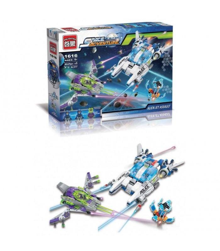 Конструктор Brick 1616 Космический корабль (517 деталей)