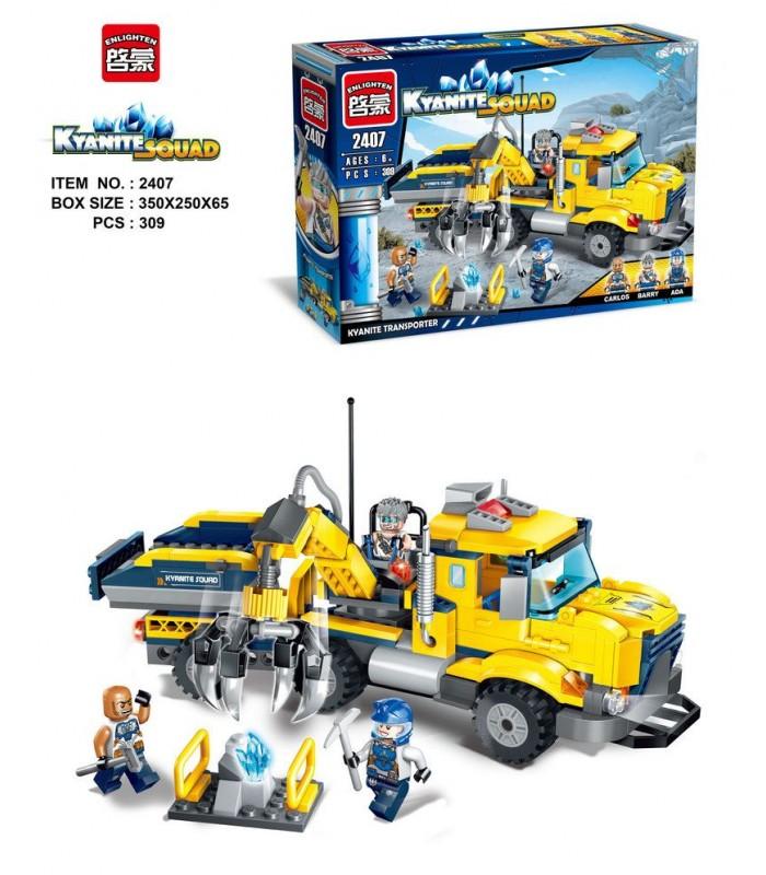 Конструктор Brick 2407 (309 деталей)