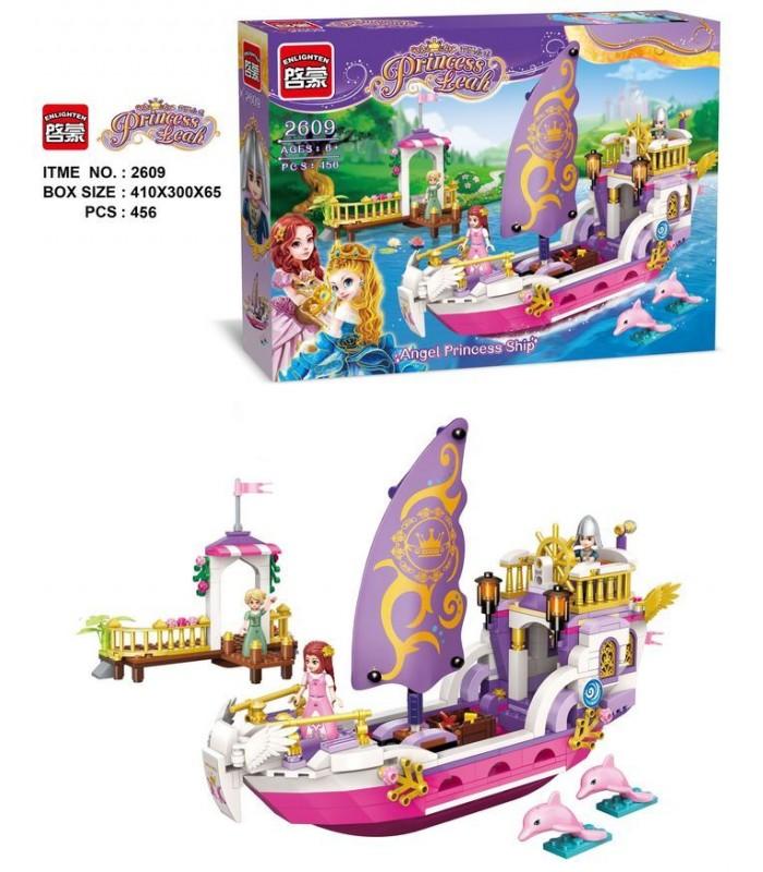 Конструктор Brick 2609 Корабль принцессы (456 деталей)