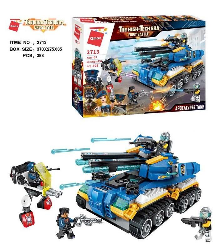 Конструктор Brick 2713 Танк (398 деталей)