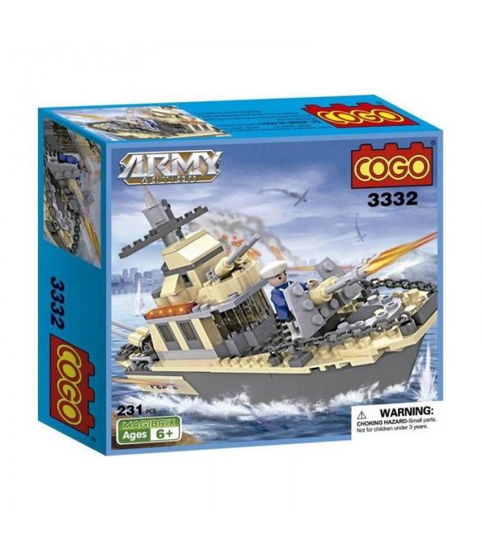 Конструктор Cogo 3332 (231 деталь)