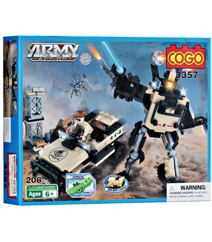 Конструктор Cogo 3357 (208 деталей)