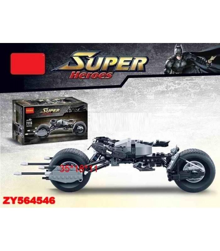 Конструктор Decool 7115 Мотоцикл (338 деталей)
