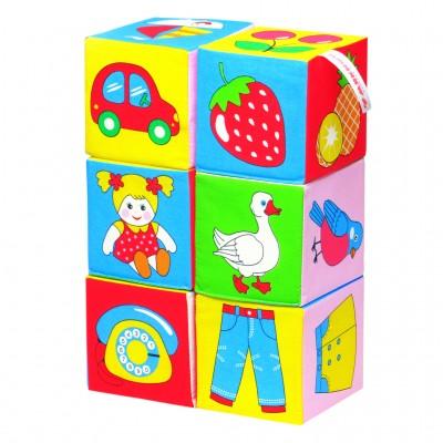 Кубики Мякиши 001 - предметы