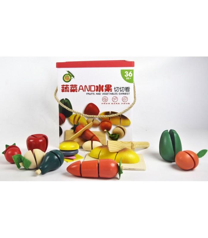 Игровой набор Ausini Овощи и фрукты