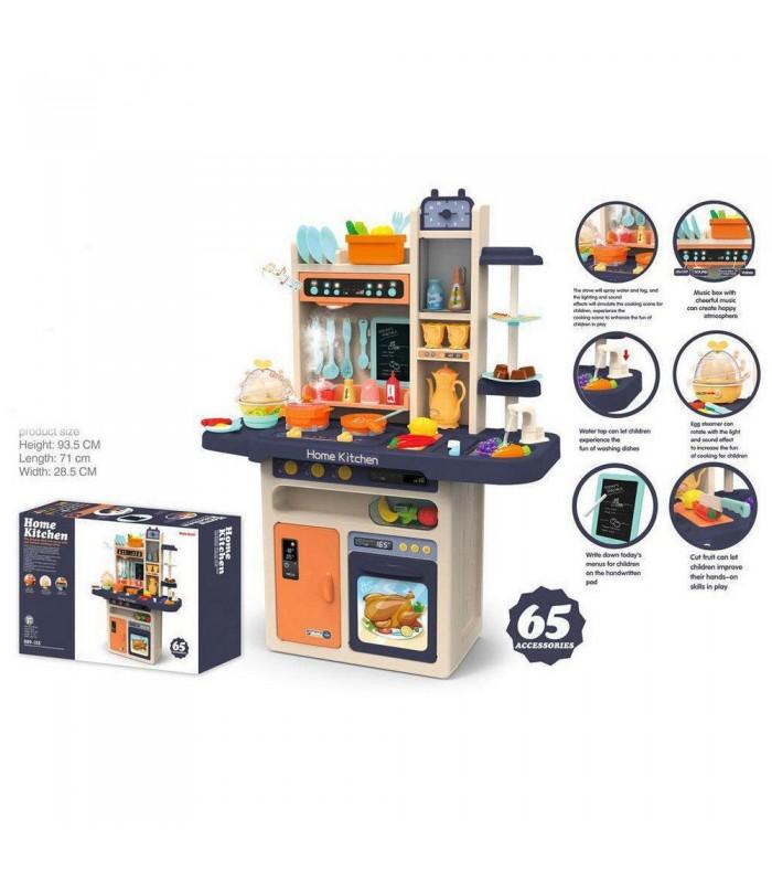 Игровая кухня Good Toys 889-161 71x28,5x93,5 см (свет/звук/вода/пар)