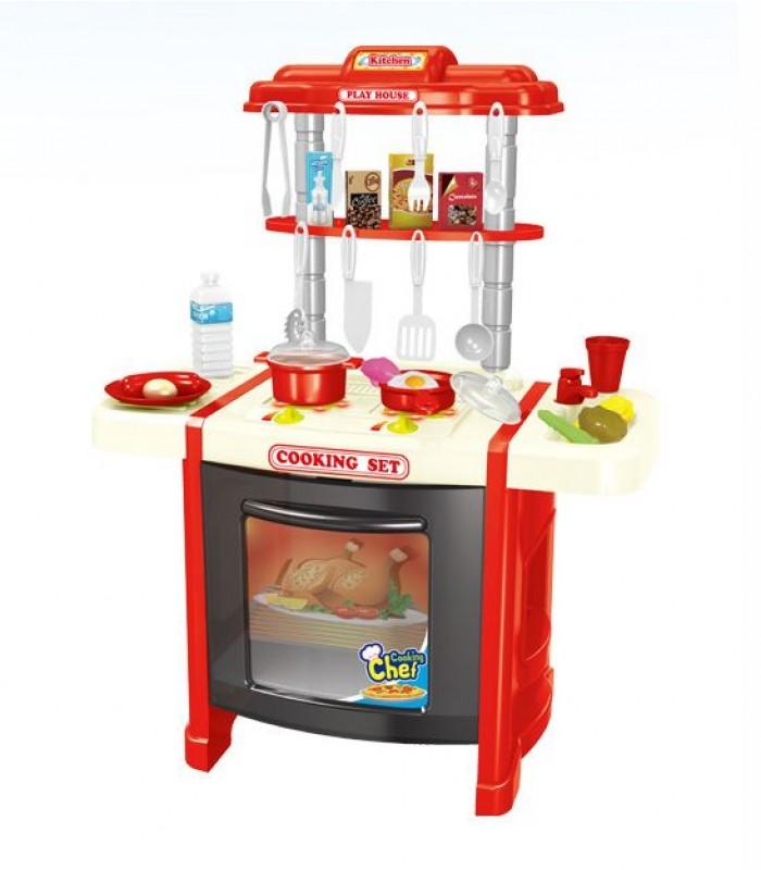 Игровая кухня BeiDiYuan Toys 38х23,5x53 см (свет/звук)