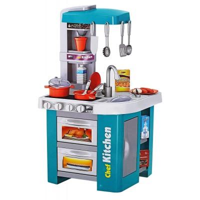 Игровая кухня BeiDiYuan Toys 34,5x33x72,5 см (свет/звук/вода)