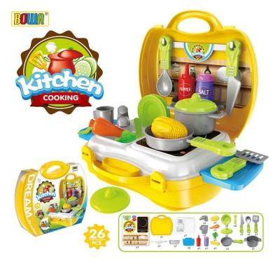 Игровой набор Bowa Кухня (26 предметов)