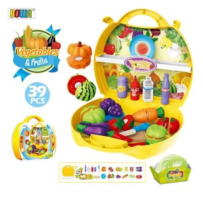 Игровой набор Bowa Овощи и фрукты (39 предметов)