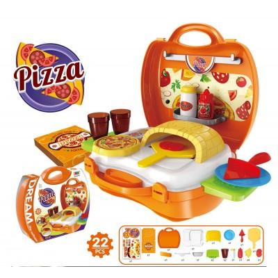 Игровой набор Bowa Пицца (22 предмета)