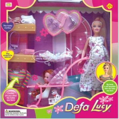 Кукла Defa с ребенком