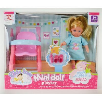 Кукла со стульчиком