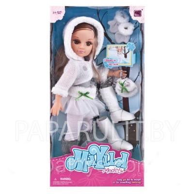 Кукла на коньках, 43 см