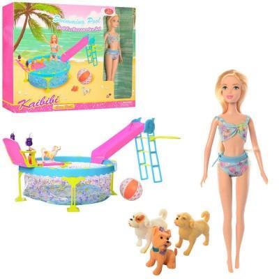 Кукла Kailili с бассейном