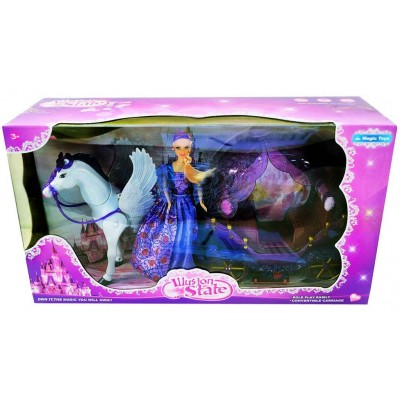 Кукла с каретой