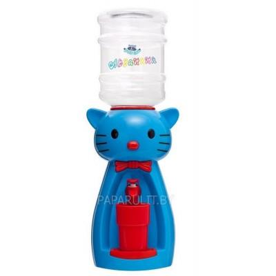 Детский кулер Акваняня Китти голубая с красным