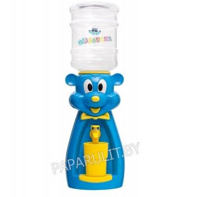 Детский кулер Акваняня Микки голубой с желтым
