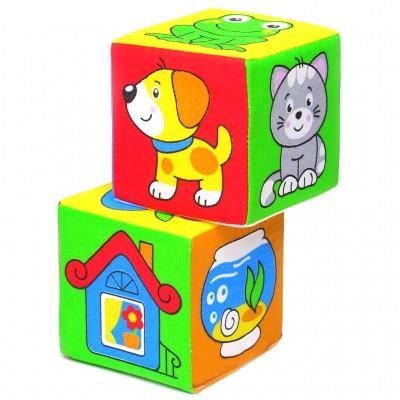 Кубики Мякиши 111 - чей домик