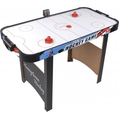 Игровой стол Huang Guan Аэрохоккей 137x69x80 см (от сети, электронный счетчик голов)