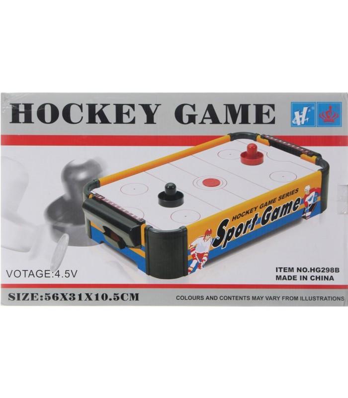 Настольная игра Huang Guan HG298В Аэрохоккей 56х31х10,5 см (от батареек)