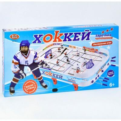 Настольная игра Play Smart 0711 Хоккей 18x82x42 см