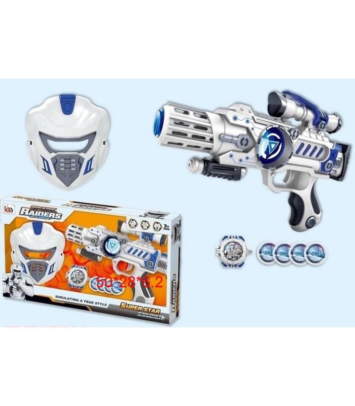 Бластер Maya Toys LM888-3AY