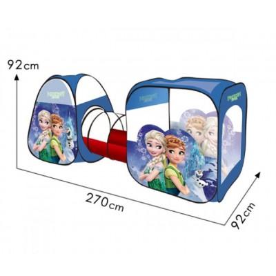 Палатка с тоннелем 270x92x92 см