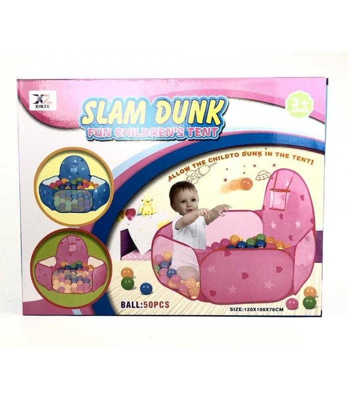 Домик Xinze Toys 50 шаров 120х100х76 см