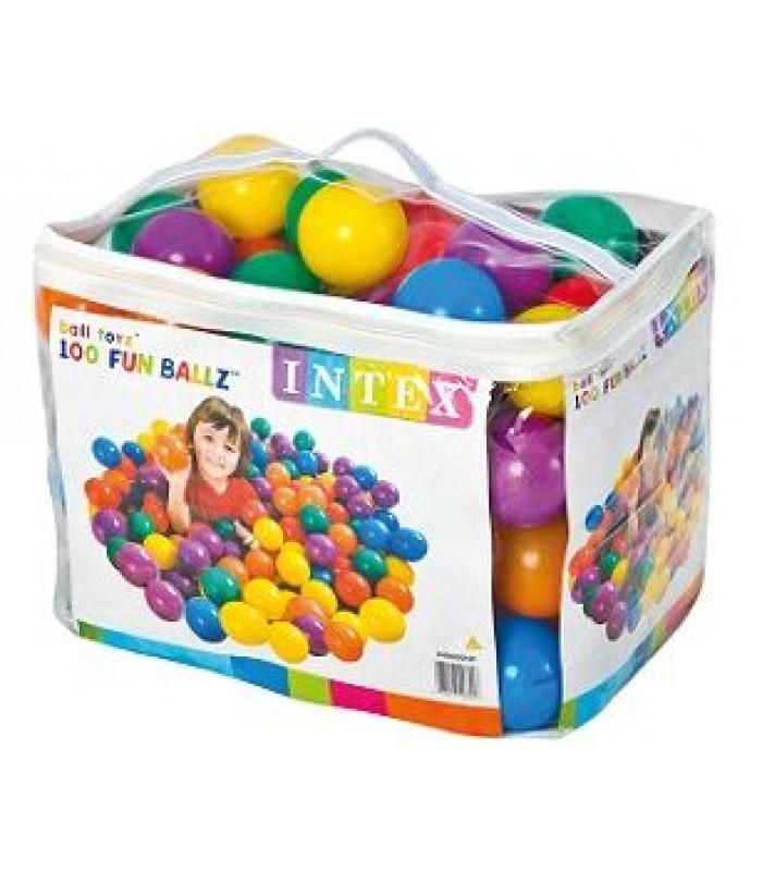 Набор шариков Intex 100 шт