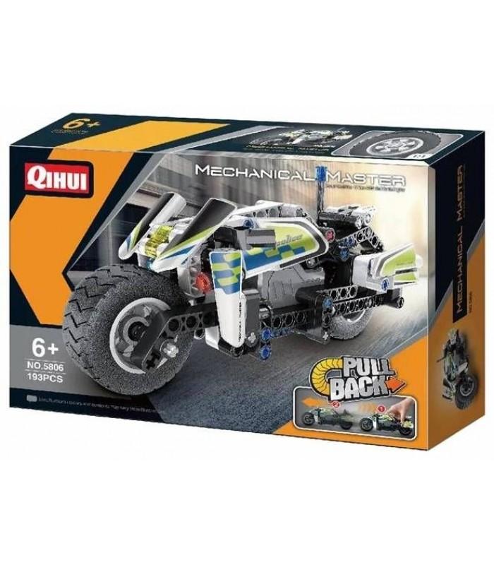 Конструктор Qihui 5806 Полицейский мотоцикл (193 детали)