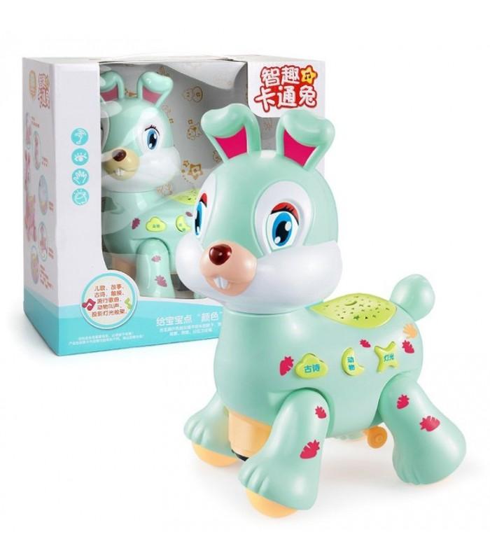 Интерактивная игрушка с проектором (кролик)