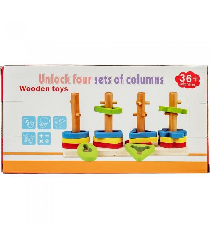Деревянный набор Wooden Toys