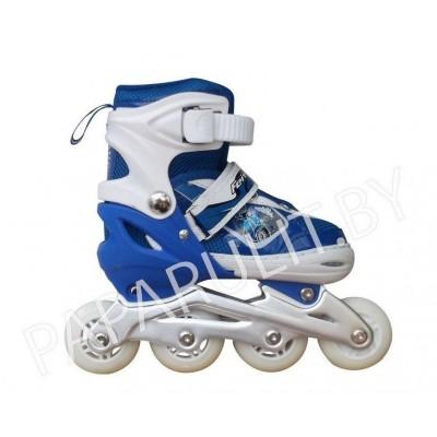 Роликовые коньки City цвет синий