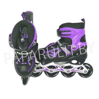 Роликовые коньки (фиолетовый)