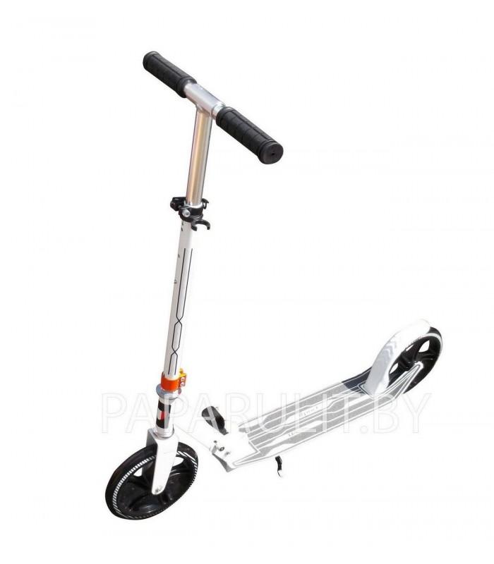 Самокат Urban Scooter 200mm (белый/черный)
