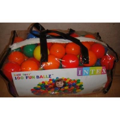 Набор шариков Intex, 100 шт
