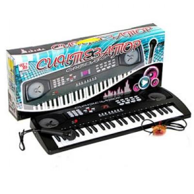Синтезатор с караоке 60x23 см (от сети)