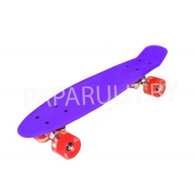 Скейтборд фиолетовый