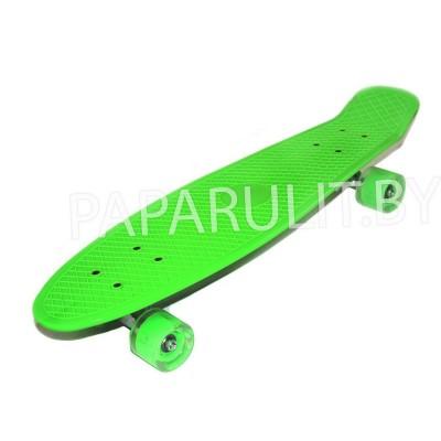 Скейтборд зеленый