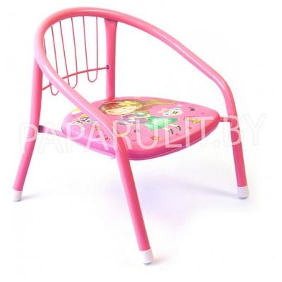 Стульчик розовый