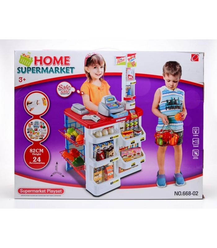Игровой супермаркет Jiacheng Toys 48x41x82 см (свет/звук)