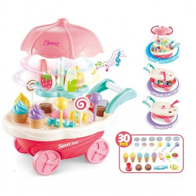 Игровой набор Супермаркет мороженого 26x25x16 см (30 предметов, свет/звук)
