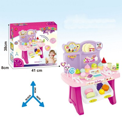 Игровой супермаркет Di Yuan Toys 922-55 36,5x18x39 см (38 предметов)