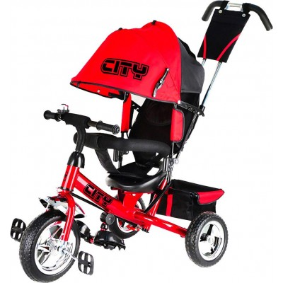 Велосипед Trike City JD7RS красный